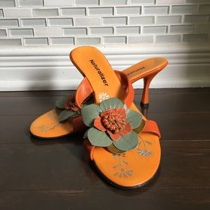 Naturalizer Sandals with flower detail
